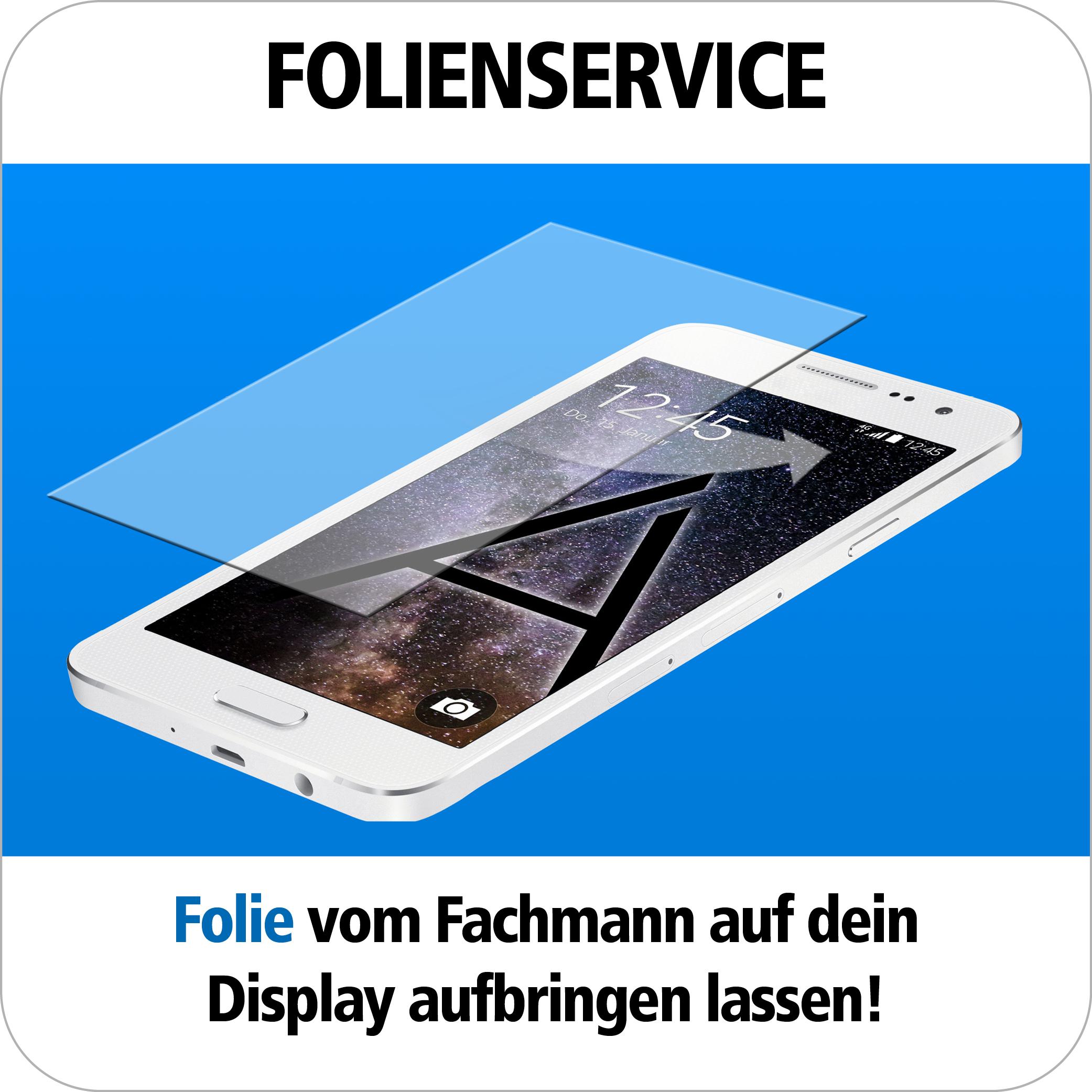 Handy Displayfolie anbringen schnell und einfach